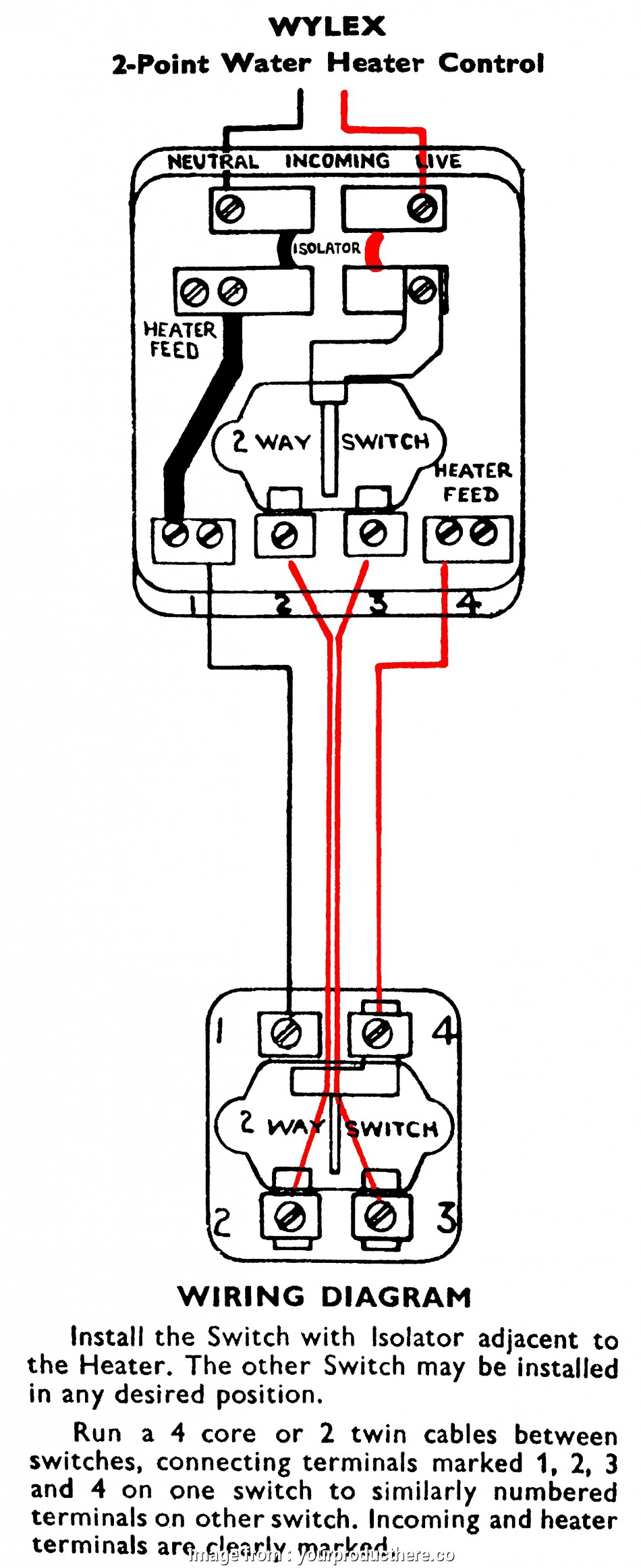 2, Heater Switch Wiring Diagram Perfect Wiring An