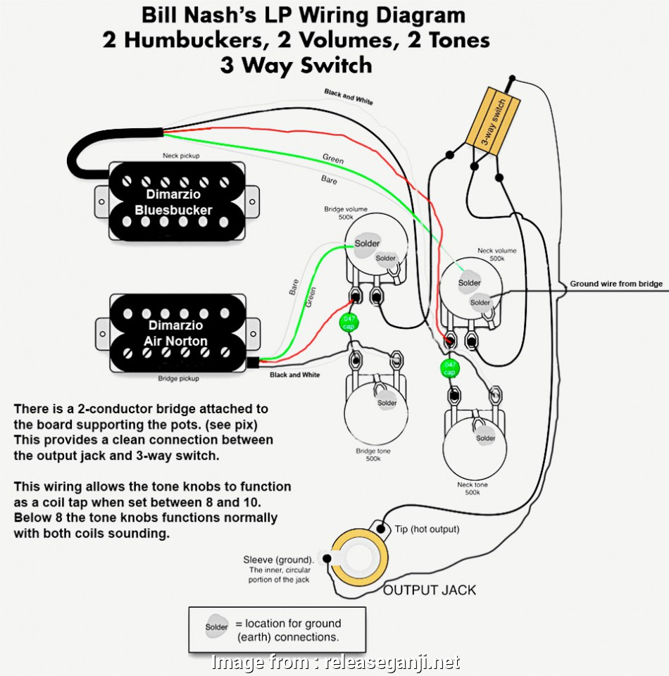 Electric Guitar Wiring Diagram One Pickup