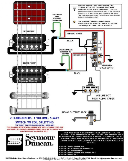 small resolution of 2 humbucker 5 way super switch wiring 2 humbuckers 5 switch wiring diagram wikiduh