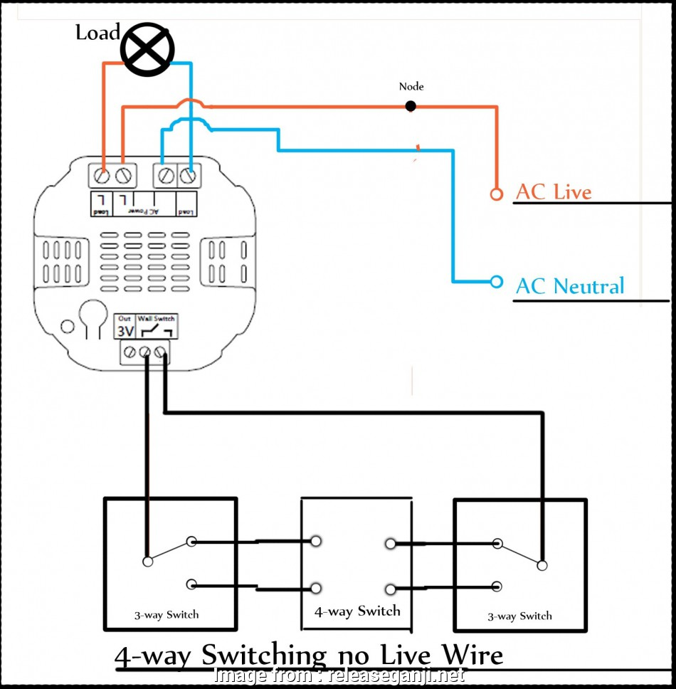 2, Switch Light Wiring Diagram Brilliant Light Wiring