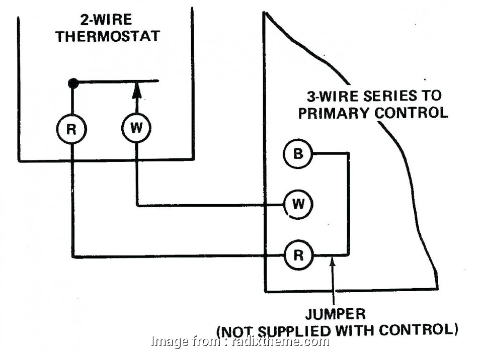 20 Most 2 Wire Thermostat Wiring Diagram Cool Only