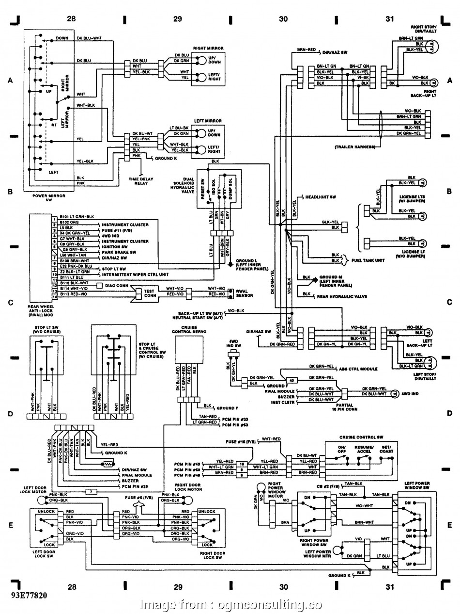 2010 Dodge, Trailer Brake Wiring Diagram Professional 96