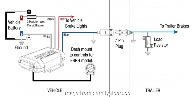 diagram oem factory trailer brake control wiring harness