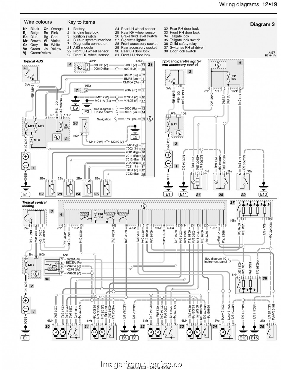 3, Switch Electrical Wiring Diagram Most Saxo Alternator