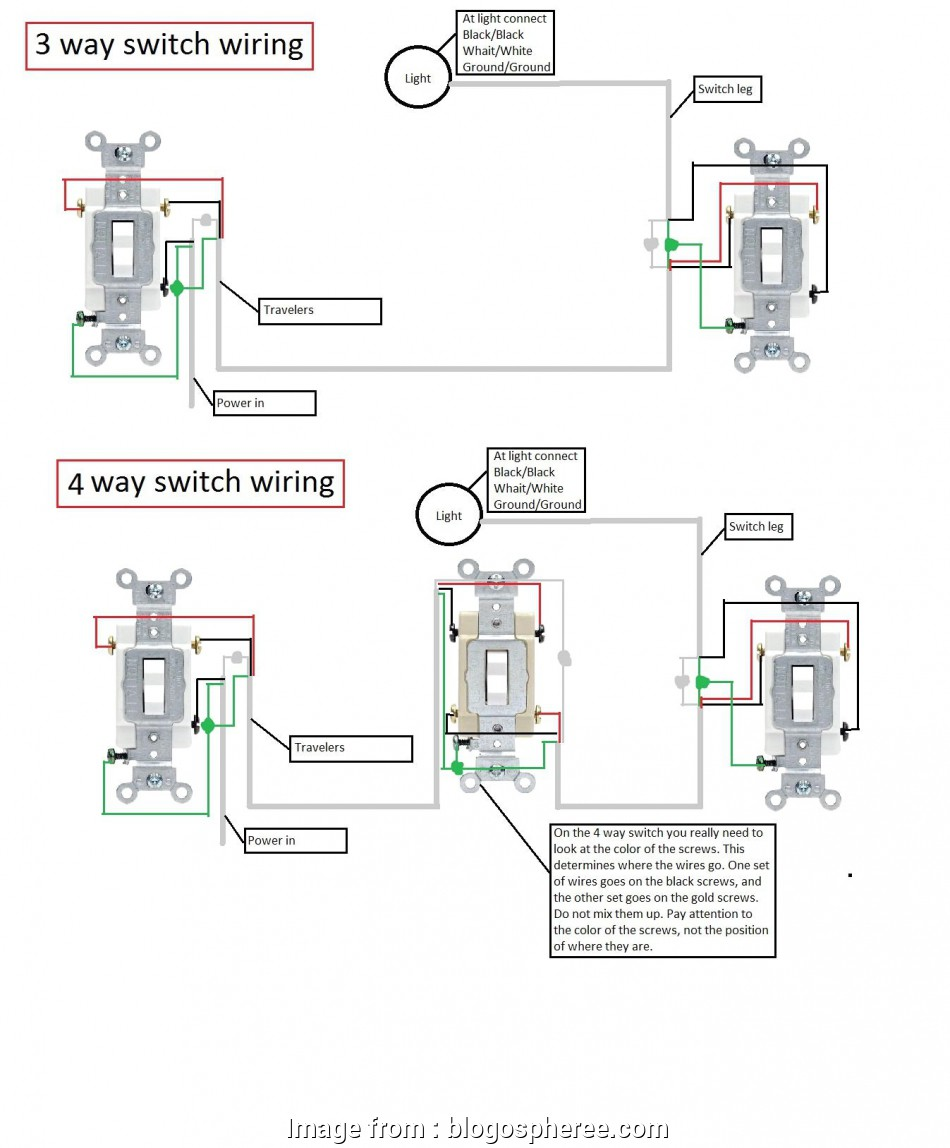 3, Switch Wiring, House Nice Wiring Diagram, 4, Light