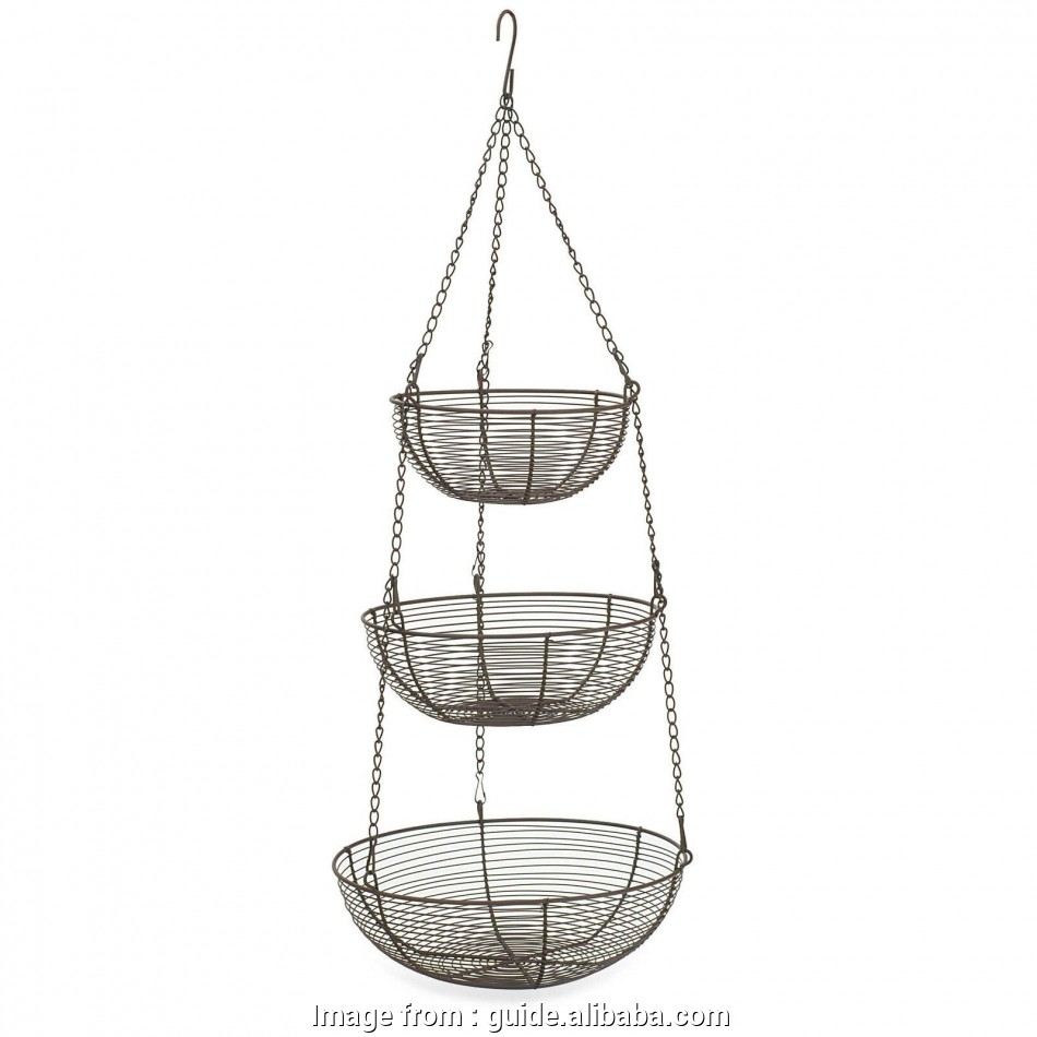 3 Tier Wire Mesh Hanging Baskets Best Get Quotations