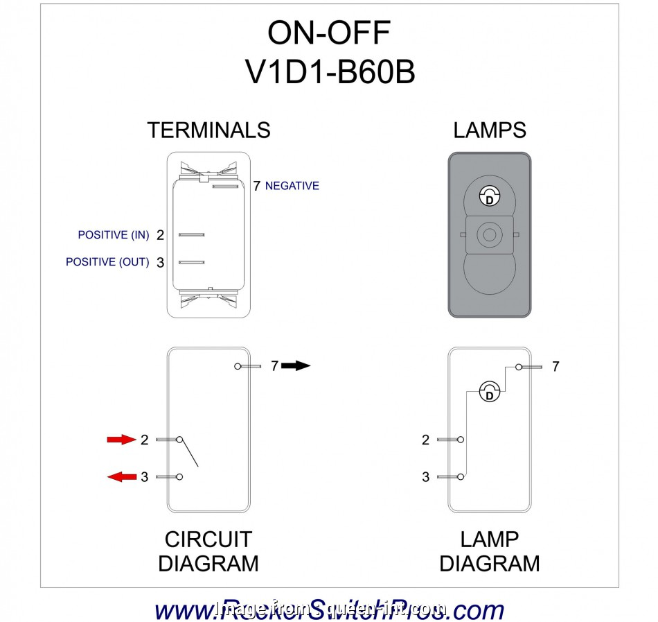 3, Toggle Switch Wiring Diagram New Lighted Toggle Switch