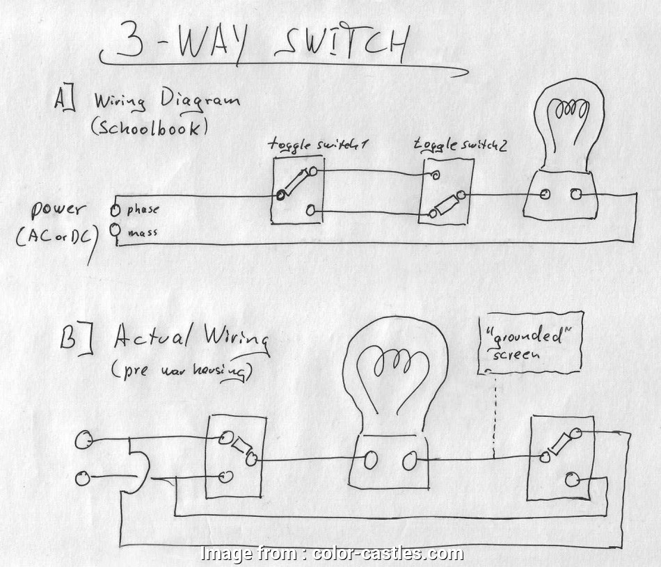3-Way Timer Switch Wiring Diagram Simple Leviton 3, Switch