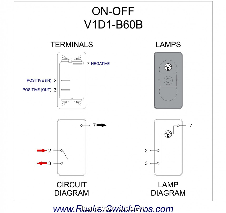 4 Prong Toggle Switch Wiring Diagram Creative 4, Led