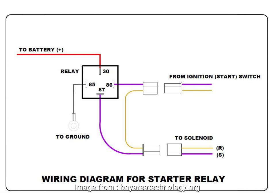 4, Relay Wiring Diagram Starter Cleaver Ignition Relay