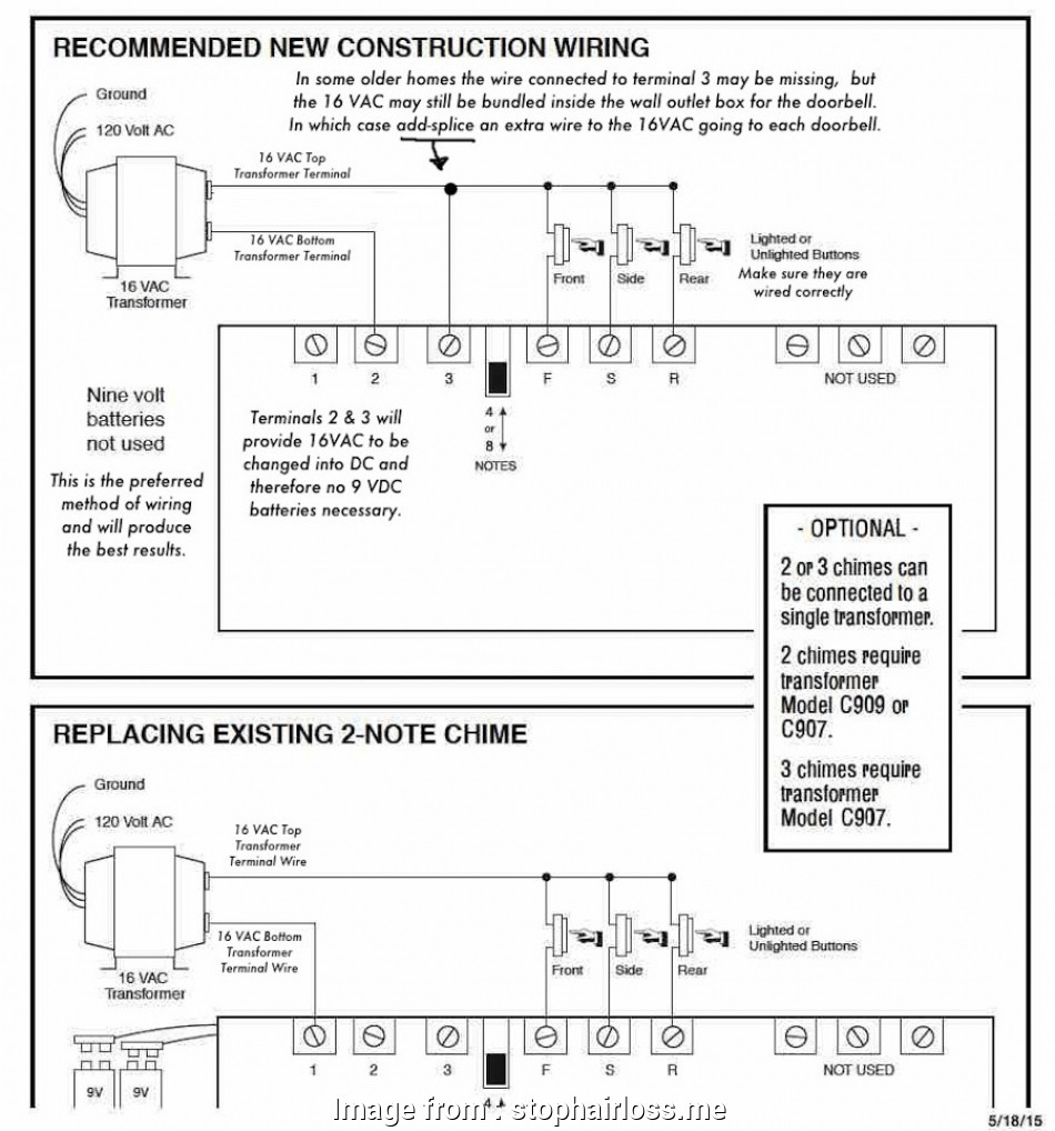 hight resolution of 6 wire doorbell wiring diagram gallery of images of 6 wire doorbell wiring diagram house 2