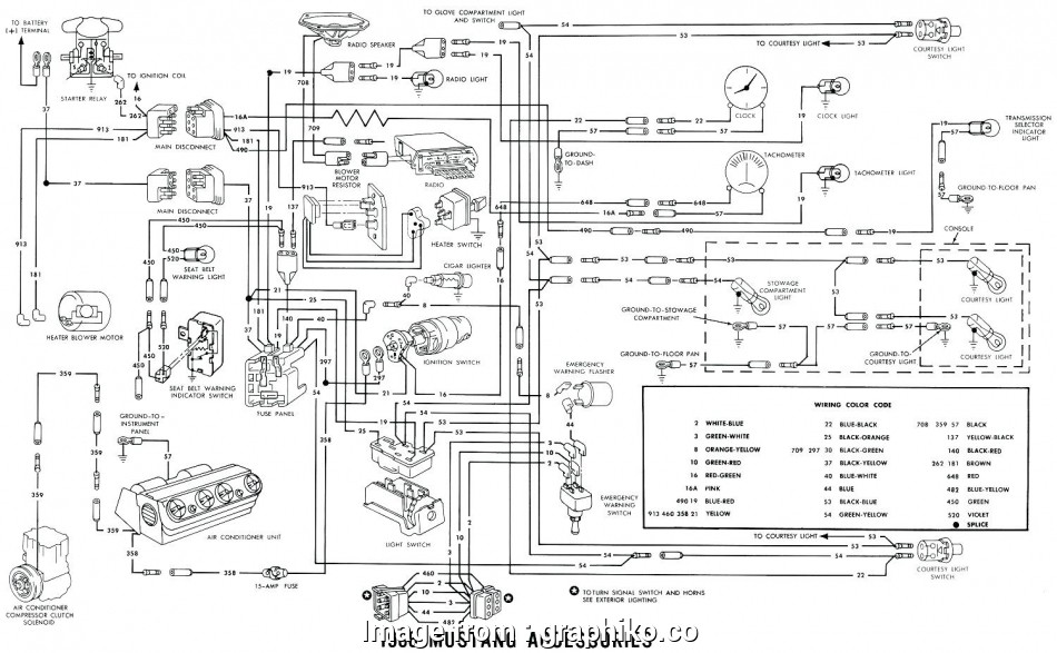 67 Mustang Starter Wiring Diagram Perfect 1966 Ford