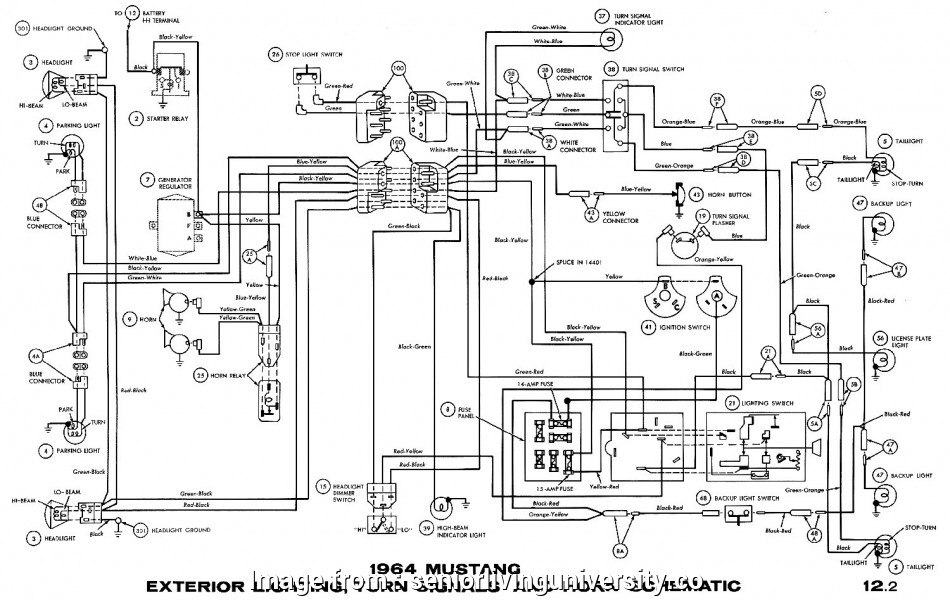 67 Mustang Starter Wiring Diagram Perfect 67 Mustang Turn