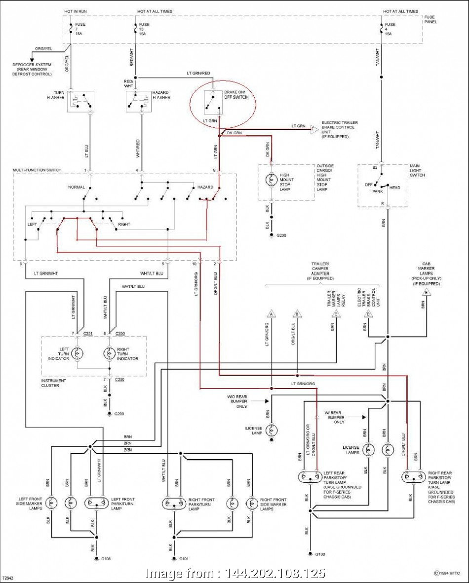 97 F150 Starter Wiring Diagram Most Ford F, Light Wiring