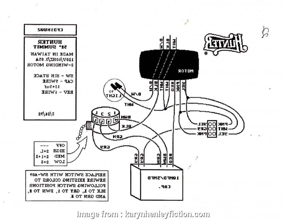 Ac Dc Ceiling, Wiring Diagram Popular Hampton, Fan Wiring