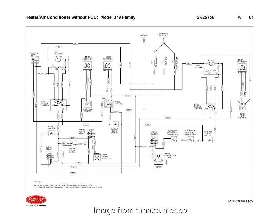 Air Brake Trailer Wiring Diagram Top 357 Peterbilt Wiring