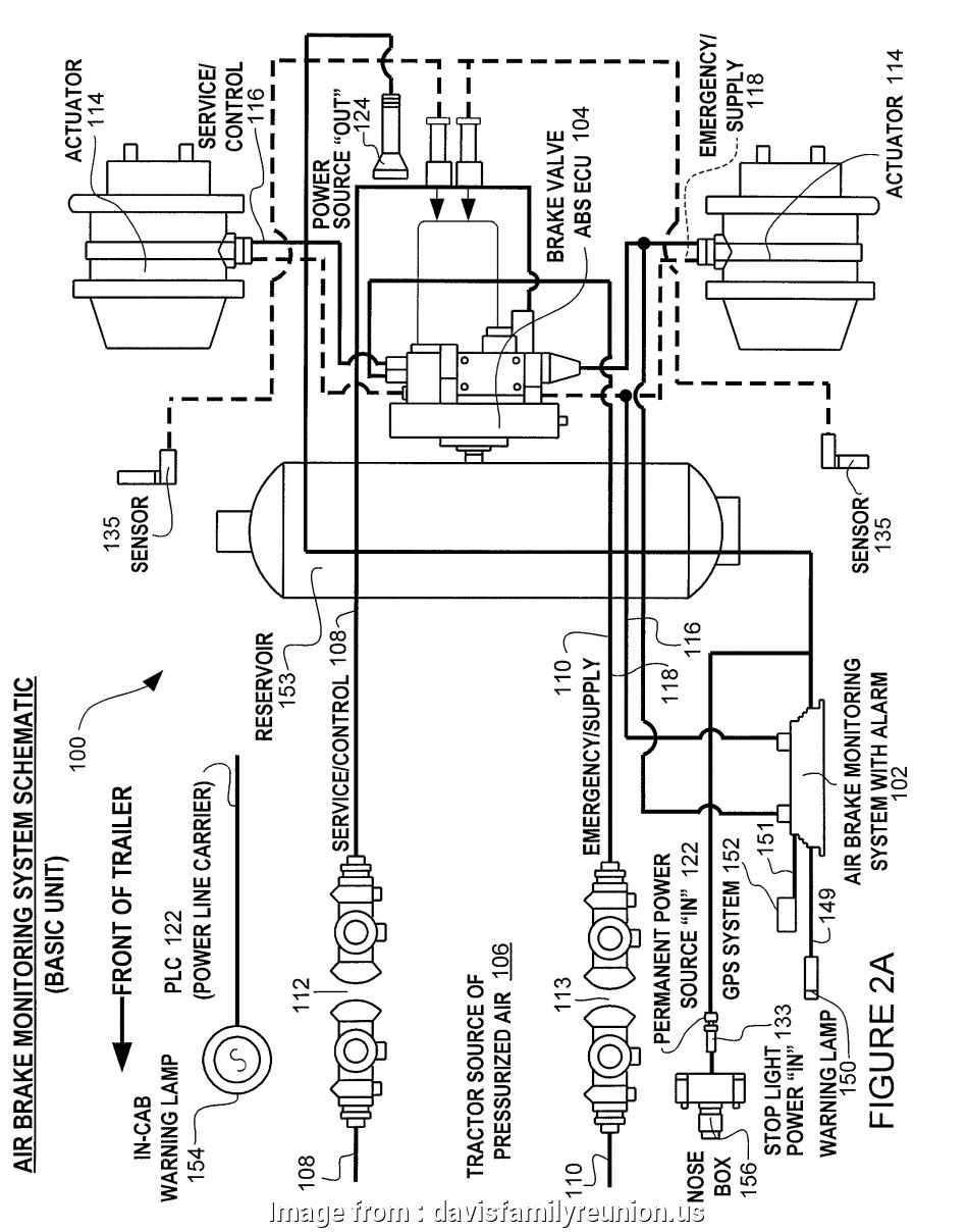 Air Brake Trailer Wiring Diagram Nice Kenworth, Brake