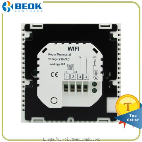small resolution of beok thermostat wiring diagram beok tds23wifi ep wifi smart programmable thermostat with large touch screen