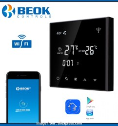 beok thermostat wiring diagram beok tgt70wifi ac black touch screen coil thermostat with heating  [ 950 x 950 Pixel ]
