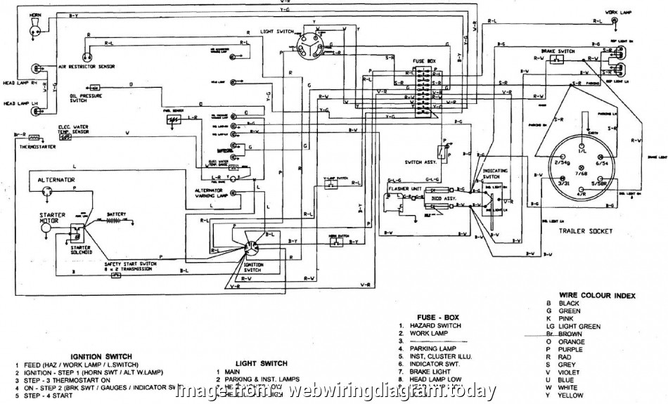 Bobcat, Starter Wiring Diagram Simple 743 Bobcat Wiring