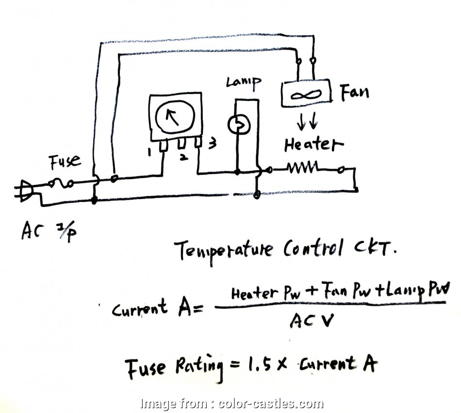 Capillary Thermostat Wiring Diagram Practical 1Pc