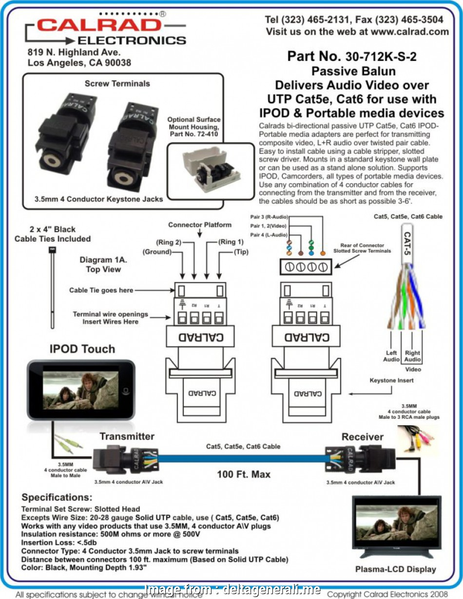 hight resolution of cat 5 wiring diagram for cctv cctv balun wiring diagram in with agnitum me throughout