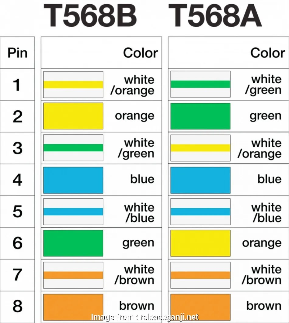 hight resolution of cat 5 wiring diagram t568b new t568a cat5e jack wiring to make an ethernet network
