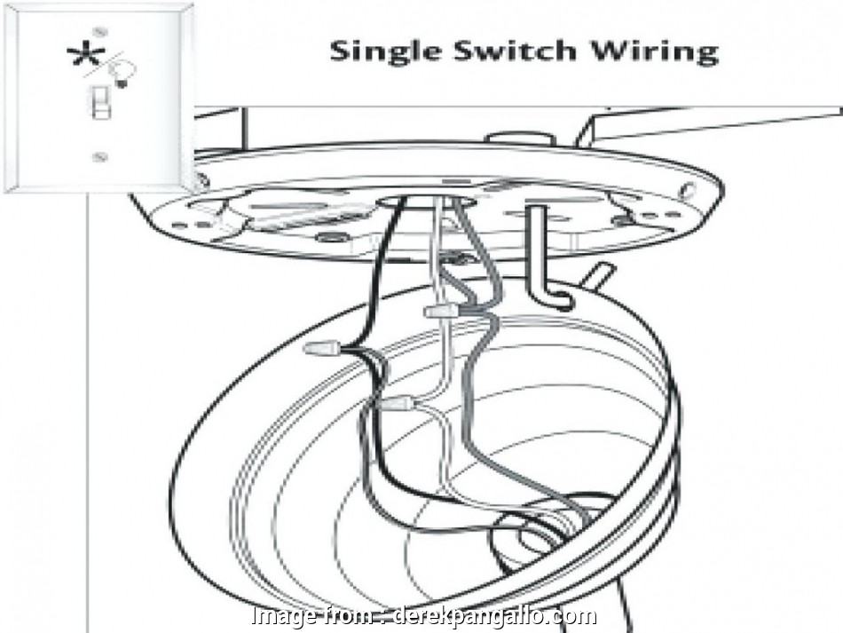 Ceiling, Installation Wiring Diagram Brilliant Hunter