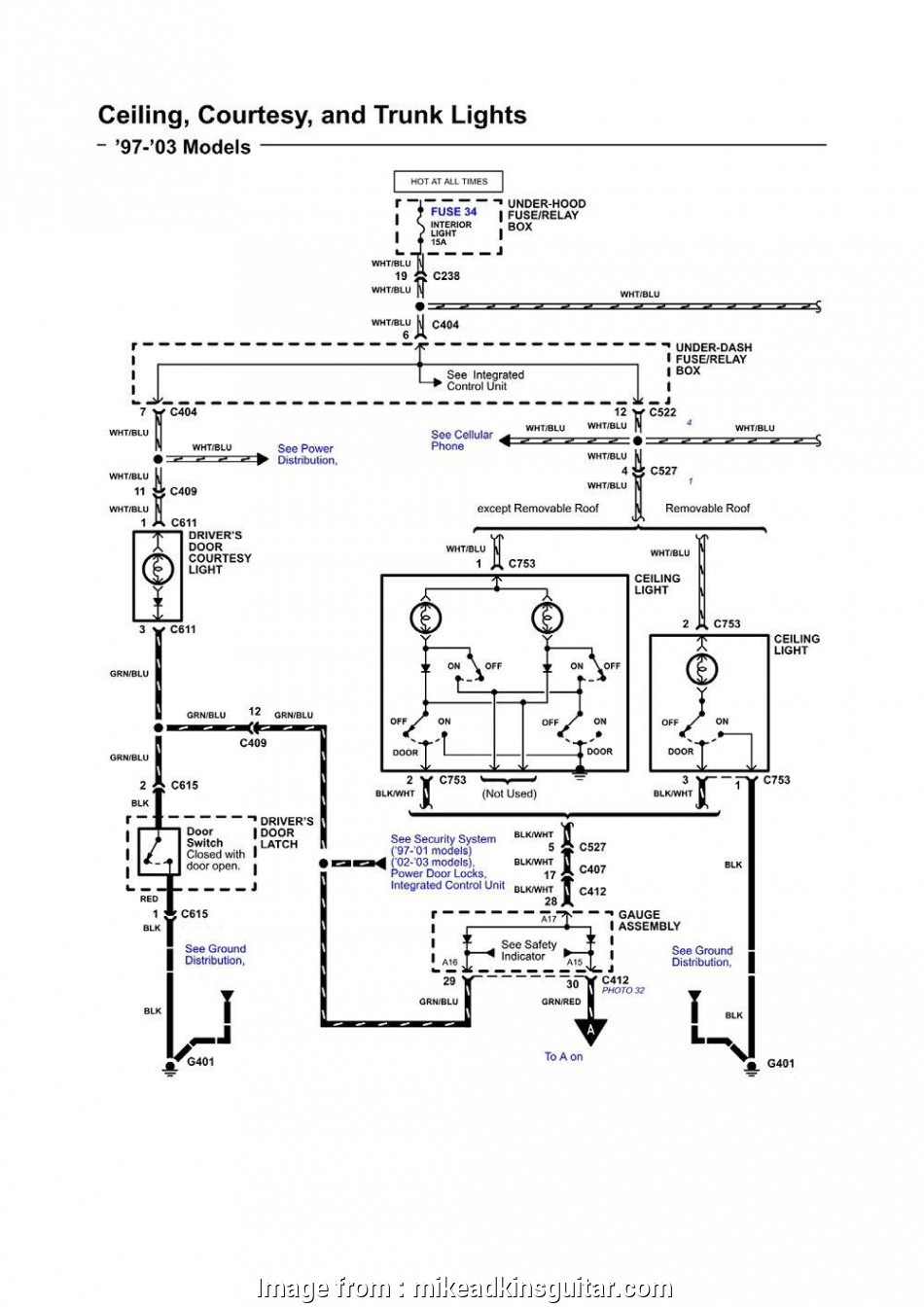 Ceiling, Model 5745 Wiring Diagram Fantastic Hunter