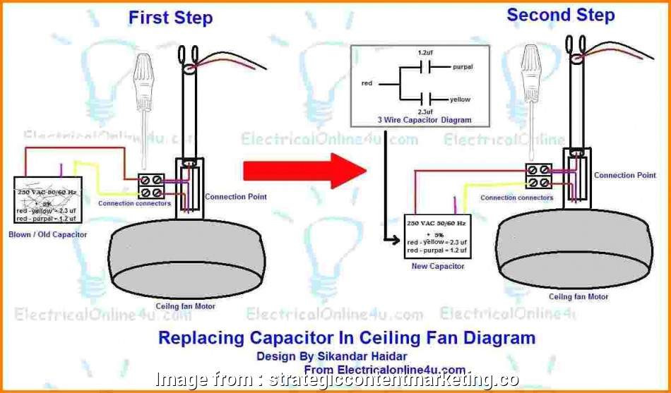 ceiling fan motor capacitor wiring diagram cable house 10 creative with connection leading edge wiringam arlec light
