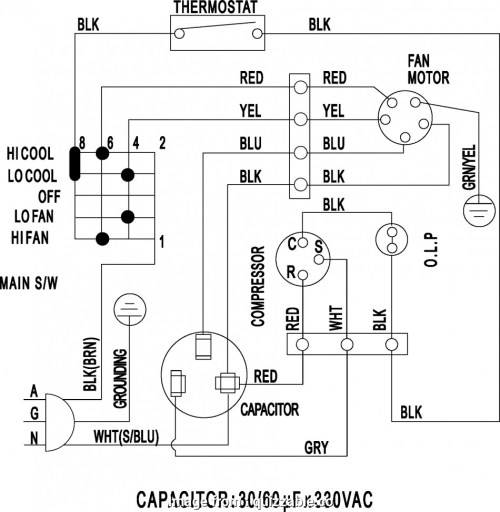 small resolution of central ac thermostat wiring diagram ac unit wiring diagram ac unit schematic diagram soundr us rh