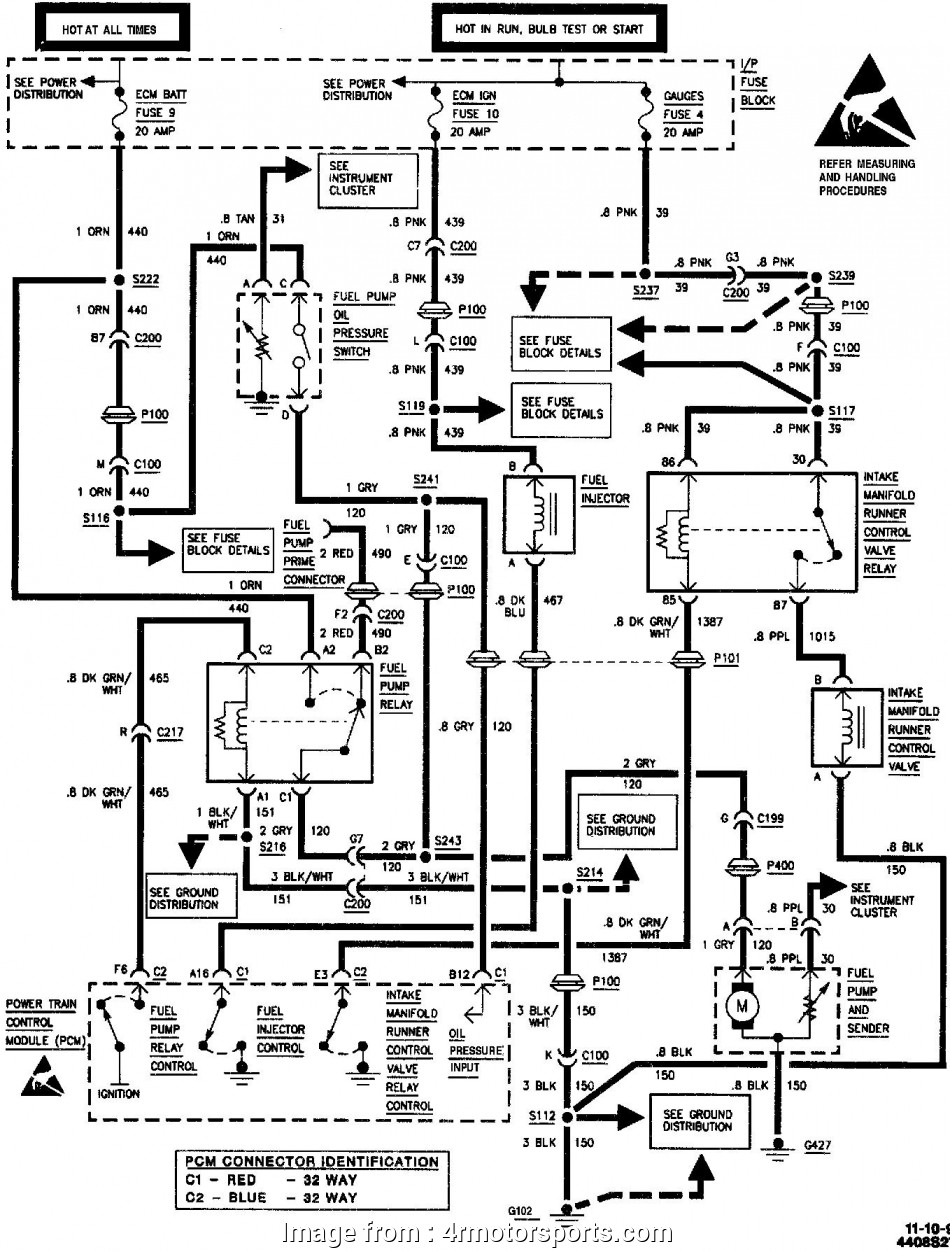 Chevrolet Starter Wiring Diagram Top 1995 Chevrolet