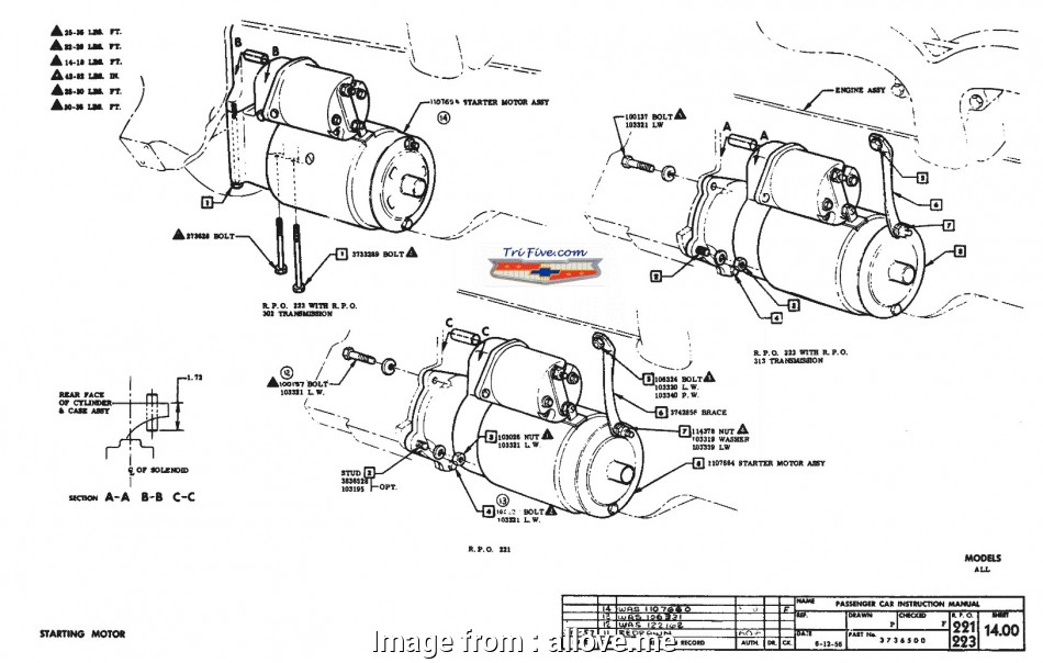 Chevrolet Starter Wiring Diagram Most Chevy Starter Wiring