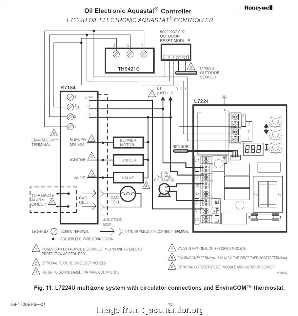 Common Thermostat Wiring Diagram New Diagram, Burner