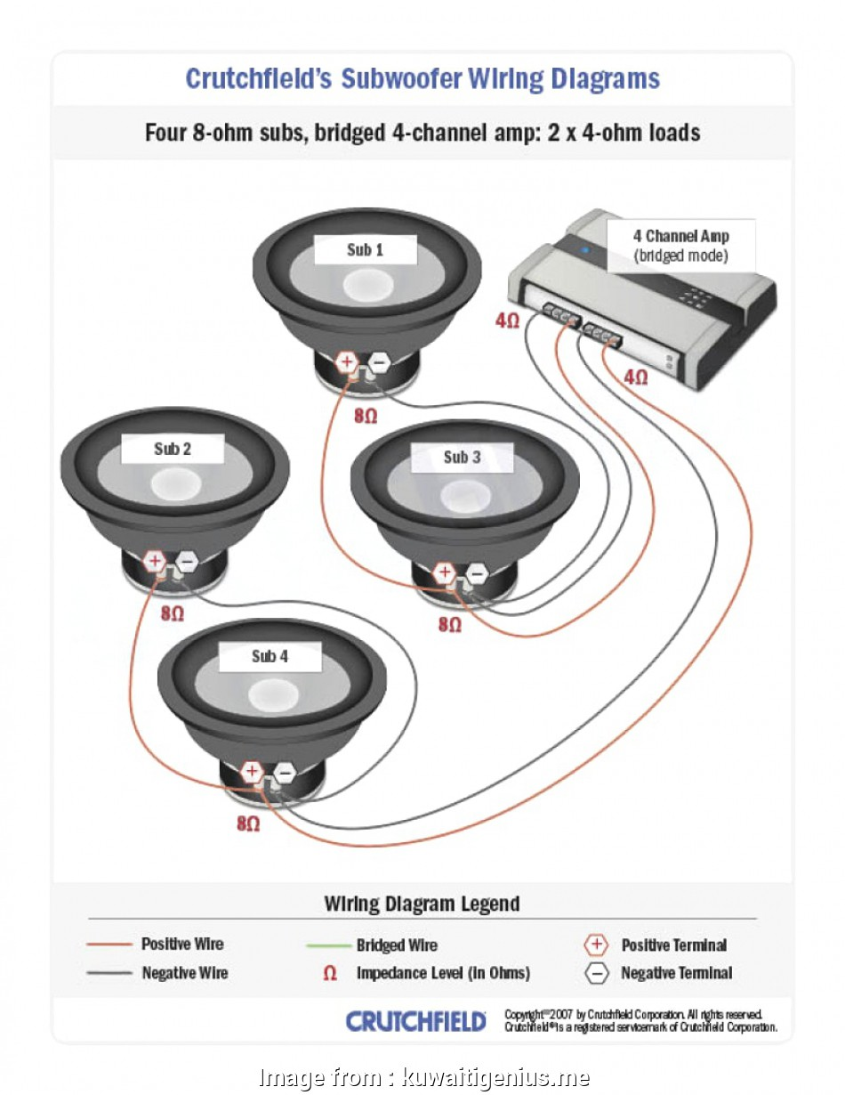 hight resolution of crutchfield 4 channel amp wiring diagram subwoofer wiring diagrams inside crutchfield kuwaitigenius me crutchfield