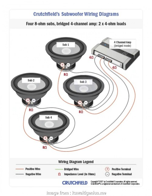 small resolution of crutchfield 4 channel amp wiring diagram subwoofer wiring diagrams inside crutchfield kuwaitigenius me crutchfield