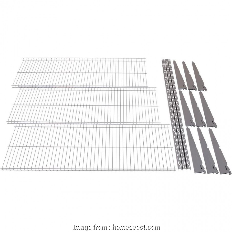 Cutting White Wire Shelving Popular Rubbermaid FastTrack