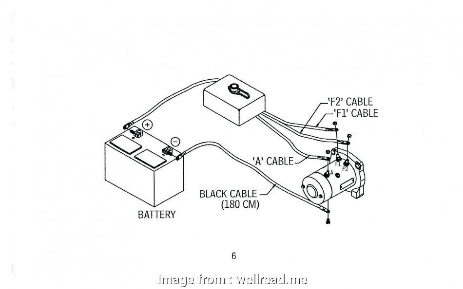 Dc Ceiling, Wiring Diagram Practical Warn 2500, Winch