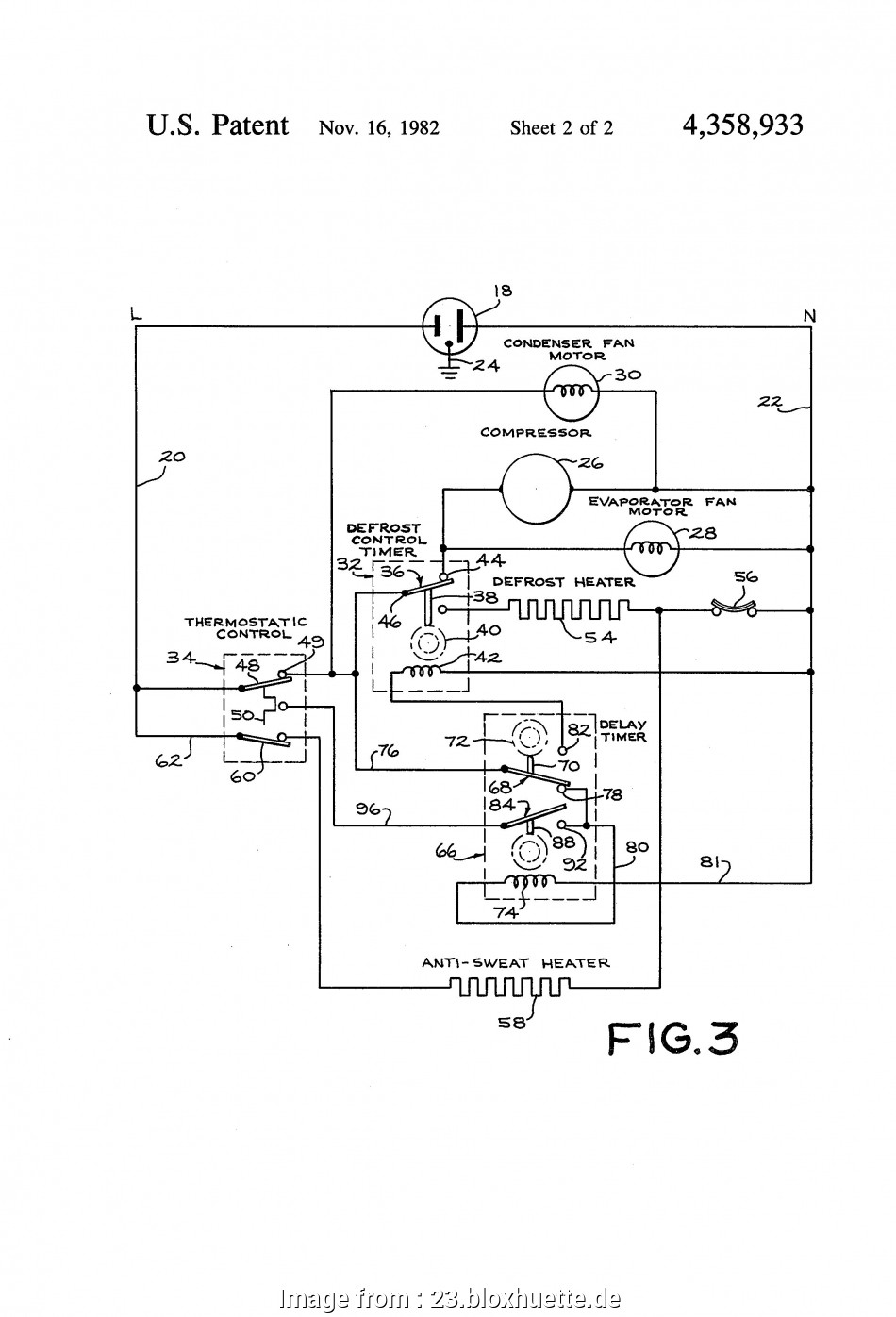 Defrost Thermostat Wiring Diagram Perfect Refrigerator