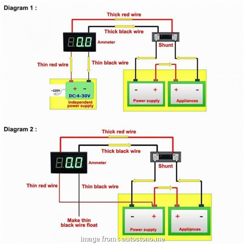 small resolution of  voltmeter ammeter wiring schematic on ammeter circuit ammeter shunt wiring ammeter with one wire