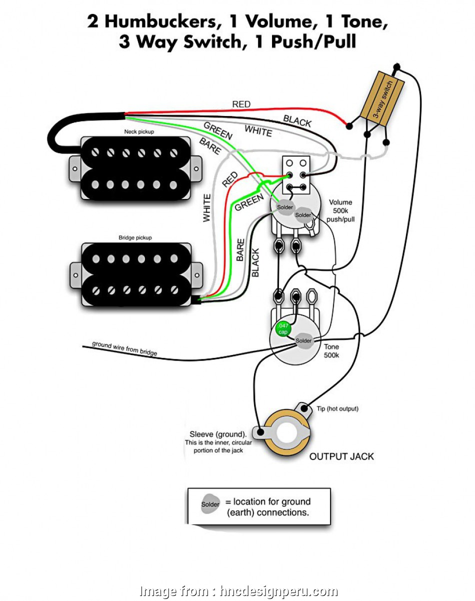Dimarzio 3, Switch Wiring Diagram Humbuckers Brilliant 3