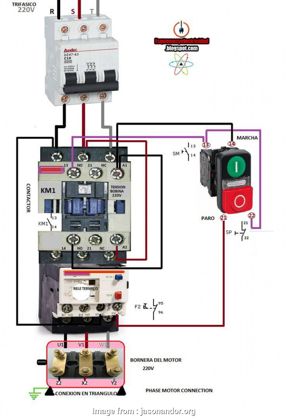 hight resolution of dol starter wiring diagram 3 phase contactor wiring diagram start stop with electrical diagrams extraordinary on
