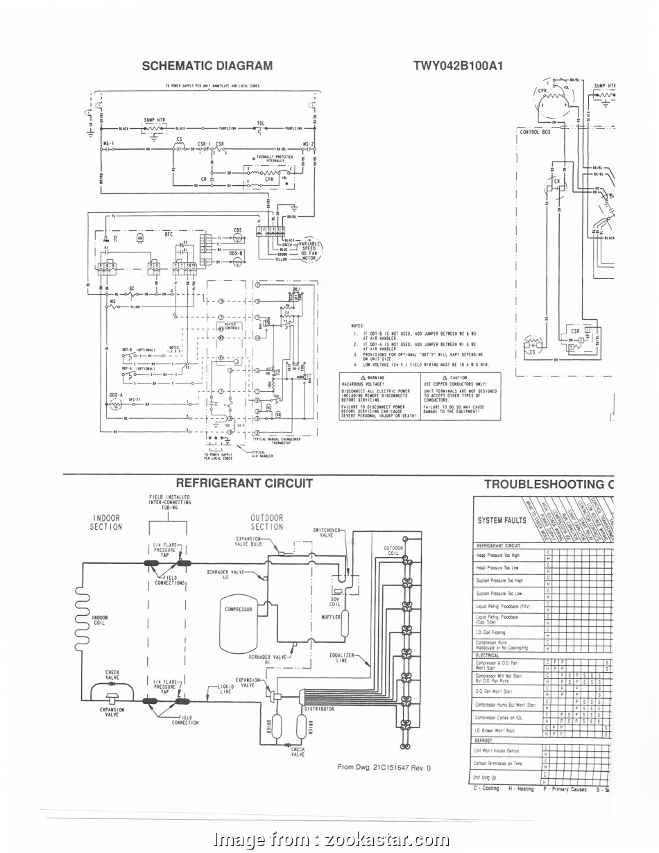 Electric Furnace Thermostat Wiring Diagram Best Trane