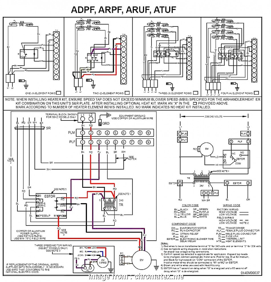 Electric Heat Strip Wiring Diagram Practical Electric Heat