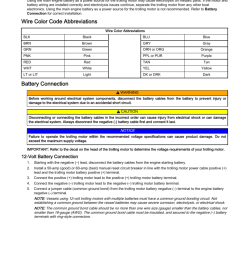 electric motor wire color code electrolysis wire color code abbreviations battery connection volt [ 950 x 1230 Pixel ]