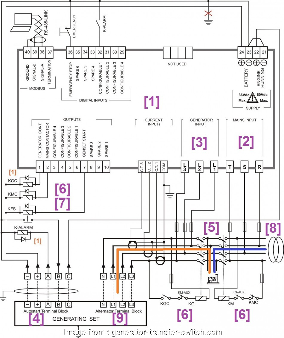 9 Perfect Electrical Changeover Switch Wiring Diagram