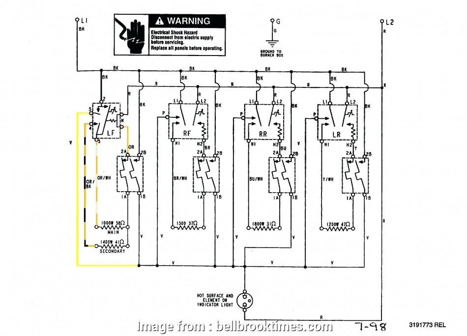 Electrical Outlet Wiring Diagram Nice Range Outlet Wiring