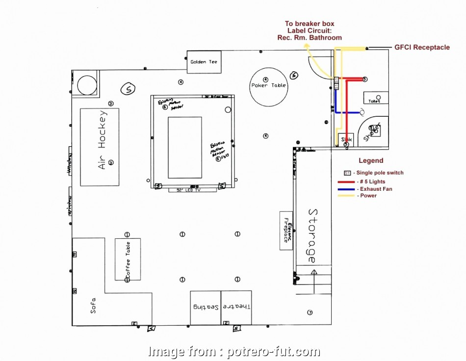 Electrical Outlet Wiring With Light Switch Perfect Light