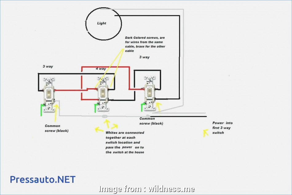 Electrical Wiring 3-Way Switch With Multiple Lights