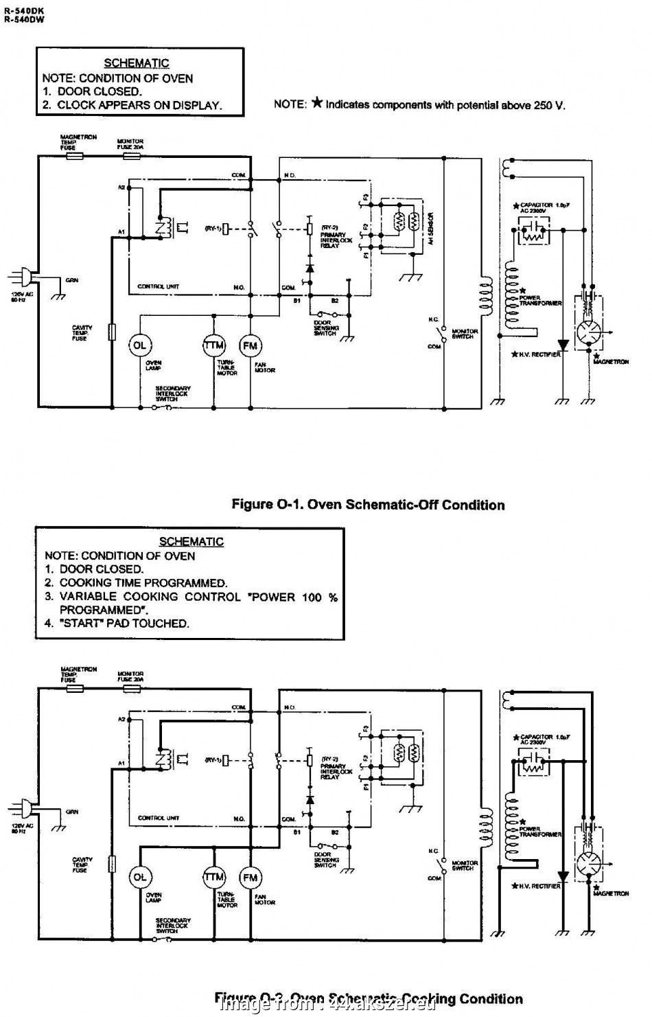 Electrical Wiring Diagram Of Microwave Oven Popular